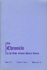 The Chronicle of the U.S. Classic Issues, Chronicle No. 78