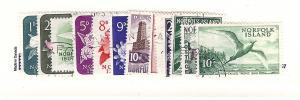 Norfolk Islands, 71-82, Various Designs Singles, MNH