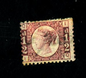 Great Britain #58 MINT Ave-Fine OG Paper HR Cat$95