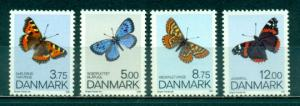 Denmark #977-980  Mint NH  Scott $12.00