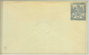BK0226  - Z.A.R. SOUTH AFRICA -  POSTAL HISTORY -  Stationery Cover H.G. #2a