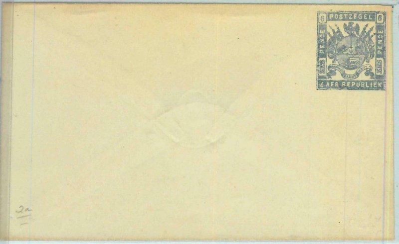 BK0226  - Z.A.R. SOUTH AFRICA -  POSTAL HISTORY -  Stationery Cover H.G. #2a