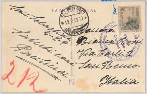 SPAIN  España - POSTAL HISTORY: GUERRA CIVIL Postcard Military censor GIUPZCOA
