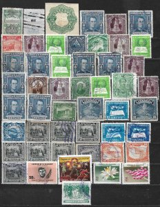 COLLECTION LOT OF 50 SALVADOR 1907+ STAMPS CLEARANCE