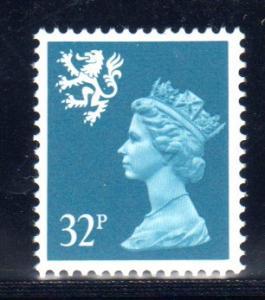 Scotland / UK Scott #SMH58 CV $2.00