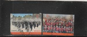 Norway  Scott#  1848-9  Used   (2018 Marching Bands)