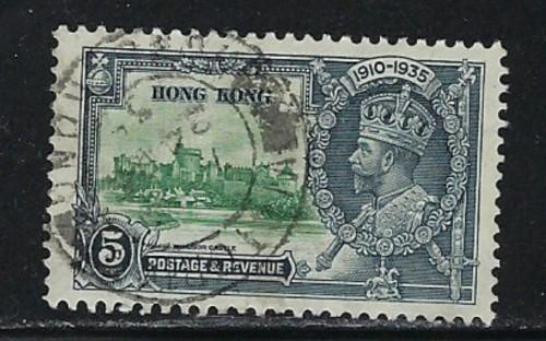 Hong Kong 148 Used 1935 issue
