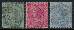 Bermuda #18-9,22  CV $1.80