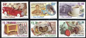 New Zealand Sc# 1579-1584 MNH 1999 Nostalgia