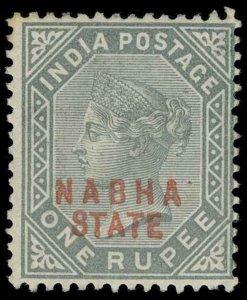 India / Nabha Scott 9 Gibbons 13 Mint Stamp