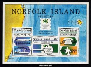 Norfolk Islands Scott 439a Mint never hinged.