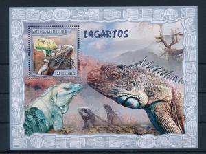 [32401] Mozambique 2007 Reptiles  MNH Sheet