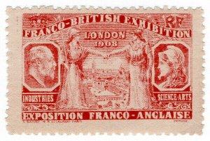 (I.B) Cinderella Collection : Franco-British Exhibition (London 1908)