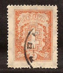 Lithuania  #  233  used