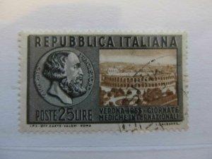 Italy Italia 1955 25L usato fine stamp A5P12F232