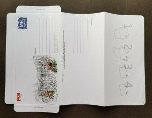 Malaysia World Post Day Mel Rakyat 2020 Postman Postal (domestic aerogramme MNH