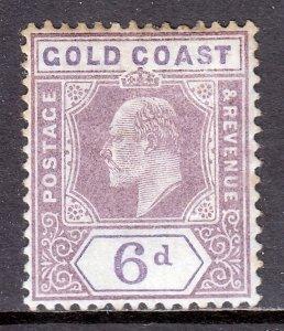 Gold Coast - Scott #43 - MH - Toning, expertizing marks/rev. - SCV $5.00