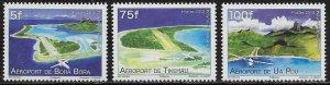 French Polynesia Scott #'s 1081 - 1083 MNH