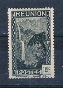 Reunion 132 Unused Cascade of Salazie 1933 (R0449)+