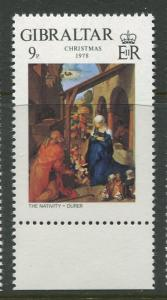 Gibraltar - Scott 375 - General Issue -1978 - MNH - Single 9p Stamp