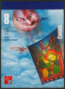 Canada 1811 Booklet BK221b MNH Kites