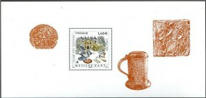 HERRICKSTAMP NEW ISSUES FRANCE Crafts - Metal Works S/S