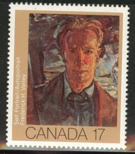 Canada Scott 888 MNH** 1981 Art stamp