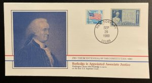 US #2278,978 On Cover - Bicentennial of Constitution 1787-1987 [BIC74]