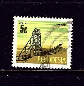 Rhodesia 281 Used 1970 Mining