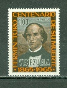 VENEZUELA 1965 TORO #C911 MNH...$1.25