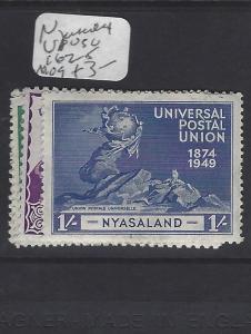 NYASALAND    (P0310B)  KGVI   UPU  SG  162-5  MOG