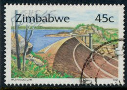 Zimbabwe SG 924  SC# 756 Used   Dams   see detail and scan
