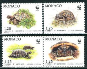 Monaco; 1991: Sc. # 1778-1781: **/MNH Cpl. Set