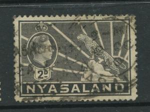 STAMP STATION PERTH Nyasaland #57 KGV 1938 Used CV$1.25.