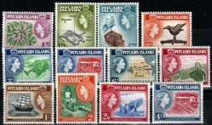 Pitcairn Islands #20-31  MNH  CV $57.30 (X9710)