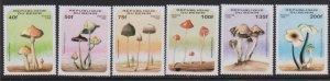 1996 Benin Scott 877-883 Mushrooms MNH