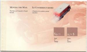 Canada - 1990 Canada Post Mail Vans Booklet #BK118