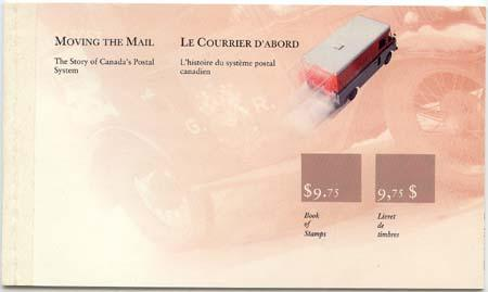 Canada - 1990 Canada Post Mail Vans Booklet #BK118