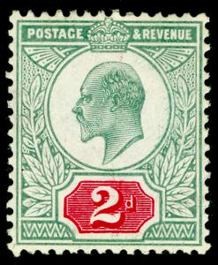 SG229 SPEC M12(-), 2d blue-green & brt carmine (C), NH MINT. UNLISTED (RC)