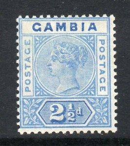 Gambia 1898 2½d ultramarine SG 40 mint