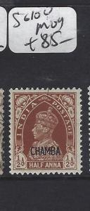 INDIA  CHAMBA   (PP0707B)  KGVI  SG  100   MOG