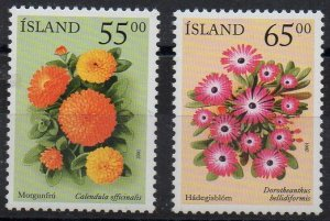 ICELAND - 2001 - FLOWERS -