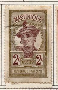 French Martinique 1908 Early Issue Fine Used 2c. 193499