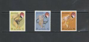 BAHRAIN:  Sc.535-37 /**DILMUN CULTURAL EXHIBITION  **/ Complete Set/ MNH.