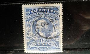 Mauritius #115 used h1812.2857