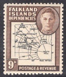 FALKLAND ISLANDS SCOTT 1L7
