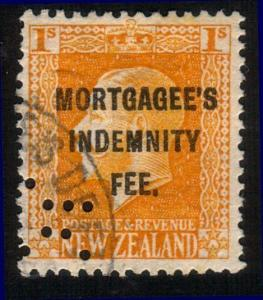 NEW ZEALAND REVENUE GV 1/- MORTGAGEE'S INDEMNITY FEE used..................10473