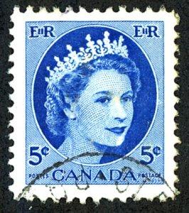 Canada #341 Used