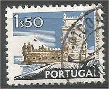 PORTUGAL, 1972, used 1.50e, Buildings, Scott 1126