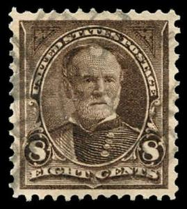 momen: US Stamps #272 Used XF-SUP